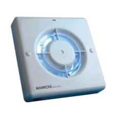 "Quiet Bathroom Extractor Fan with Timer - 100mm (4"") QF100T"