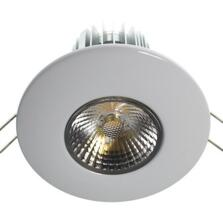 10w LED Fire-Rated Downlight - Gloss White