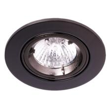 Black Nickel Fire-Rated Tilt Downlight IP20 - Fitting Only