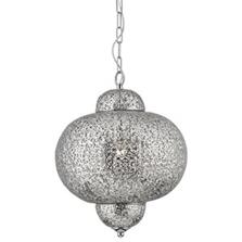 Moroccan Pendant Ceiling Light 9221-1SS
