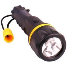 Black LED Flashlight