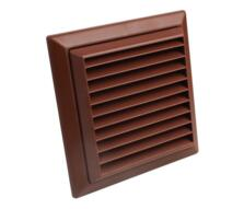 """4"""" Inch Fixed Fan Vent Grille 100mm"""