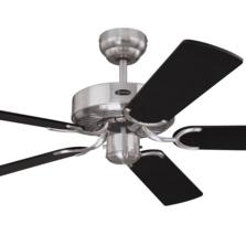 "Westinghouse Cyclone Ceiling Fan - 52"" Brushed Steel"