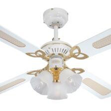 Westinghouse Princess Trio Ceiling Fan Light-White