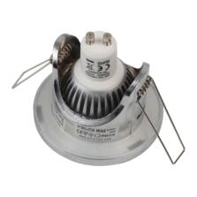 IP65 Shower Downlight 12V MR16/240V GU10 Dual Use -  Chrome