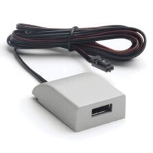 Silver 12V Surface USB Charger