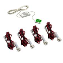 Specto LED Chrome Plinth Light Kit With Driver