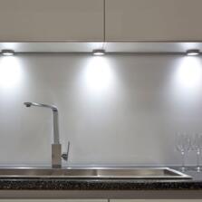 Venus LED Surface/Recess Cabinet Light - Single light cool white