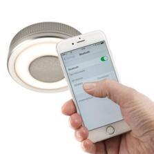 LED Illuminated Bluetooth Speaker Light - Cool white