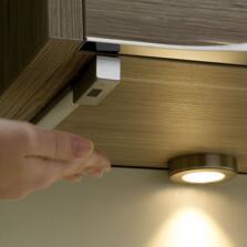 Moda LED Dimming Sensor Switch - Aluminium Finish