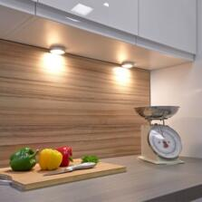 Nico LED Surface/Recessed Light - Single light cool white