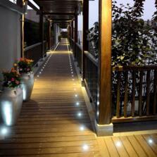 LED Individual Decking / Plinth Light 240v