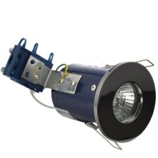 Black Nickel Fire Rated Downlight IP65 GU10
