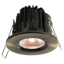 Antique Brass LED Downlight Fire Rated IP65 7w - 3000k Warm White