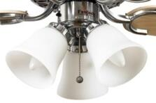 Fantasia Belmont Ceiling Fan Shade - Frosted D&C Glass