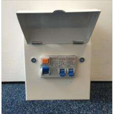 Garage Unit Amendment 3 63a RCD & 6a&32a MCB Fitted