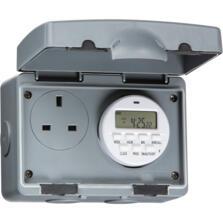 IP66 13A 7 Day Digital Timer Socket