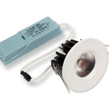 LED Fire-Rated Fixed Downlight 8w/10w - White