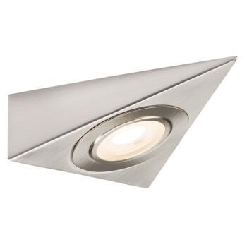 240v 2w LED Triangle Kitchen Undercabinet Downlight - Warm White 3000K
