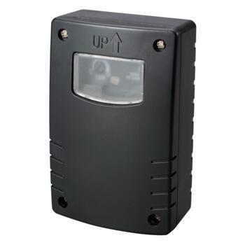 Electronic Photocell Sensor & Timer - Black