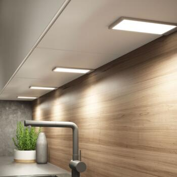 Under cabinet light led pad 2 led under cabinet light 35w warm white single light aloadofball Choice Image