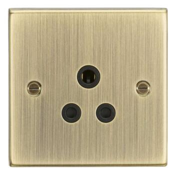 Antique Brass 5a Lighting Socket - Unswitched