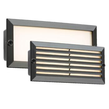 Black LED Brick Light - 5w