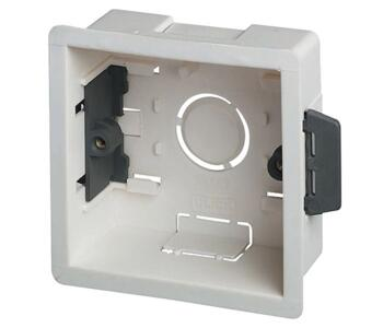 35mm Single Plasterboard Backbox - Single Backbox