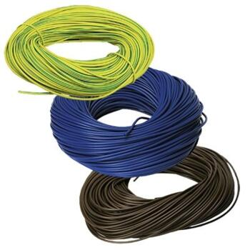 3mm PVC Sleeving -100m - Green/Yellow