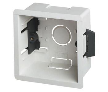 47mm Single Plasterboard Backbox - Single Backbox