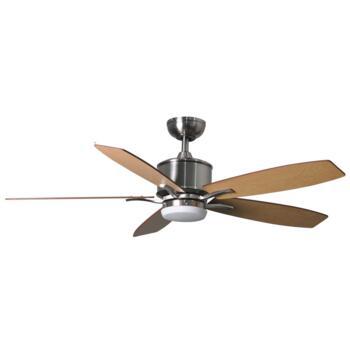 "Fantasia Prima Brushed Nickel Ceiling Fan 52/42"" - 52"" 117179"