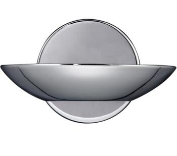 LED Uplighter Wall Light Polished Chrome  -  3209CC