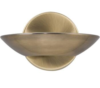 LED Uplighter Wall Light Antique Brass  -  3209AB