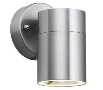 1 Light Outdoor Wall Light, Stainless Steel Finish - 5008-1-LED
