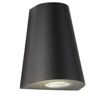 Outdoor Black LED Wall Light  - 9450BK
