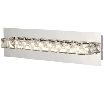 Clover LED Wall Light Chrome Finish With Clear Crystal Glass - 6001CC - 6001CC