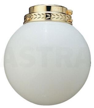 Fantasia Round Ceiling Fan Light Kit - Polished Brass