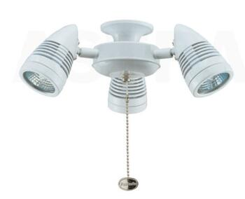 Fantasia Sorrento Ceiling Fan Light Kit Cluster - Gloss White