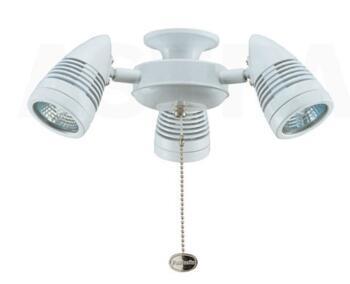 Fantasia Sorrento Ceiling Fan Light Kit Cluster - Gloss White