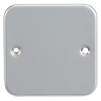 Metal Clad Blanking Plates - Single 1 Gang