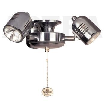 Fantasia Venice Ceiling Fan Light Kit - Pewter (Gemini Only)