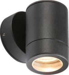 IP65 Aluminium Powder Coated Black Fixed GU10 LED Fitting WALL1LBK