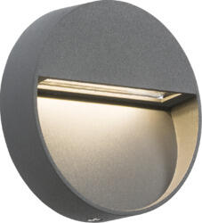 230V IP44 2W LED Round Wall/Guide Light - Grey LWR2G  - LWR2G