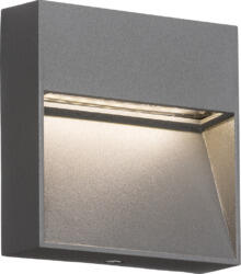 230V IP44 2W LED Square Wall/Guide light - Grey LWS2G  - LWS2G