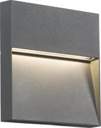 230V IP44 4W LED Square Wall / Guide light - Grey LWS4G