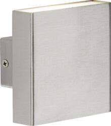 230V IP54 2x4W Up/Down LED Wall Light - Brushed Chrome WSS8BC  - WSS8BC