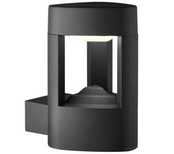 Michigan 1 Light LED Outdoor Wall Light  Dark Grey Finish  - 2005GY
