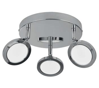 Languna 3 Light Triple Spotlight  Chrome Finish - 1203-3CC