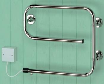 Sunhouse Heated Towel Rail - Chrome - 50W