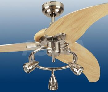 Westinghouse Cobra Elite Ceiling Fan With Light 48 Brushed Nickel And Beech